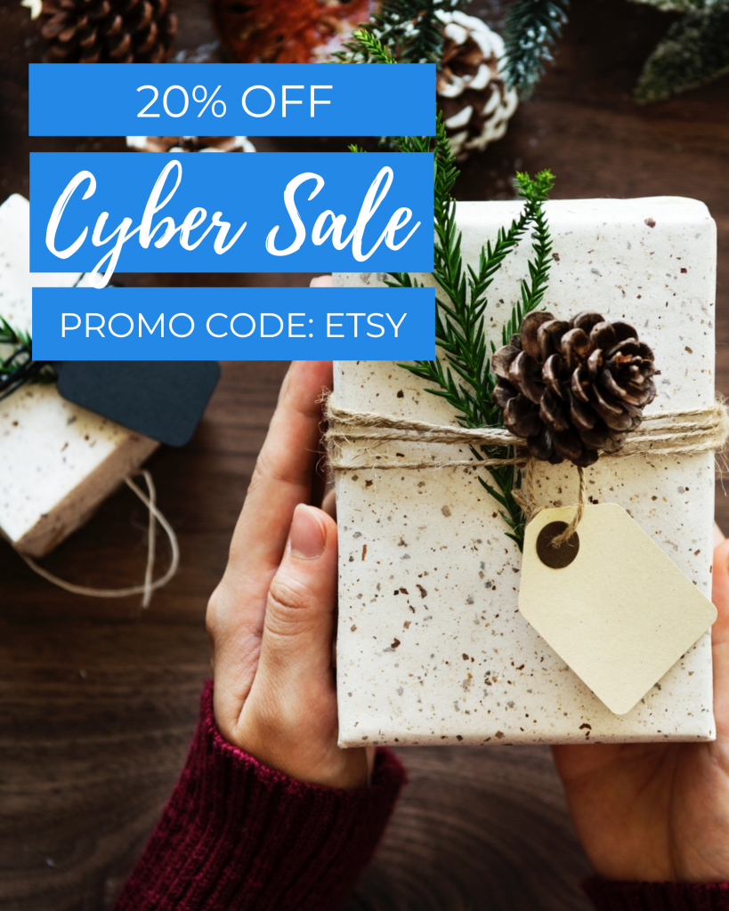 20% OFF Cyber Sale PROMO CODE: ETSY Instagram Post Template