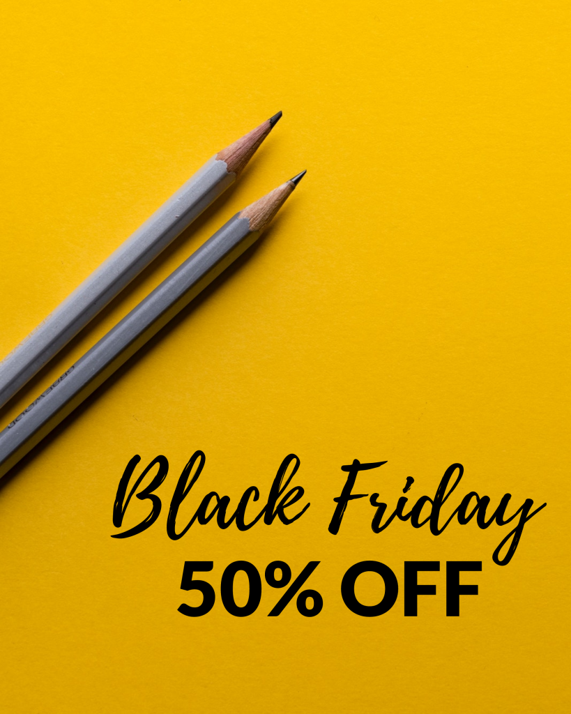 Black Friday 50% OFF Instagram Post Template