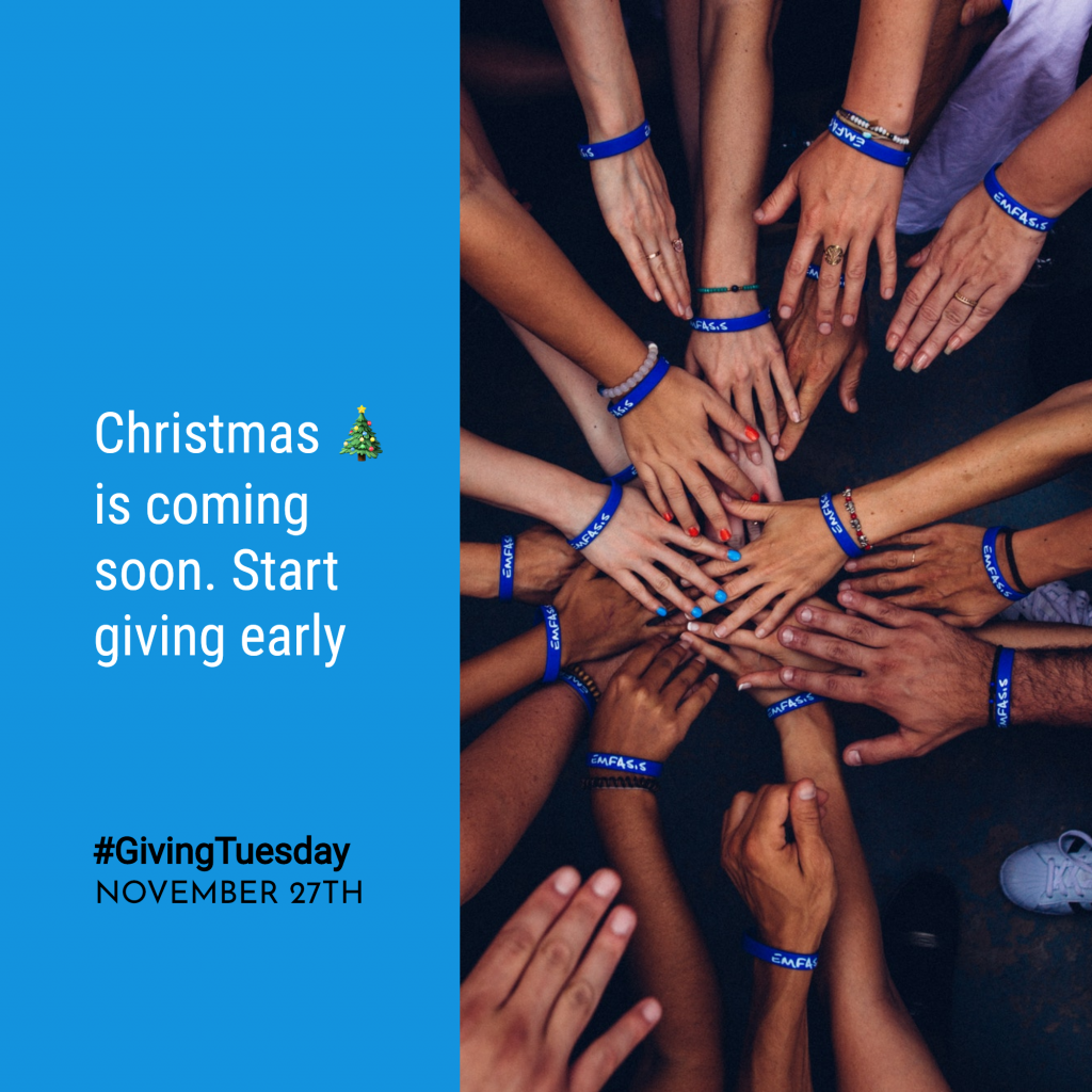Christmas 🎄 is coming soon. Start giving early #GivingTuesday NOVEMBER 27TH Instagram Post Template