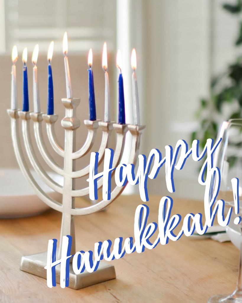 Happy Hanukkah! Happy Hanukkah! Instagram Post Template