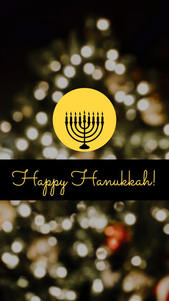 Happy Hanukkah! Instagram Story Template