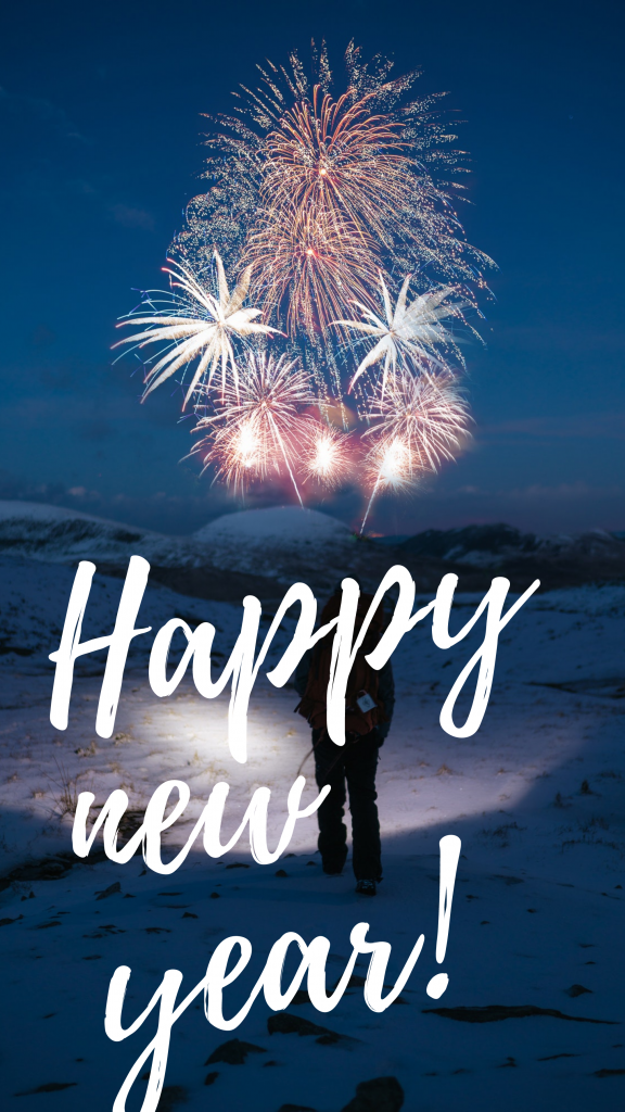 Happy new year! Instagram Story Template