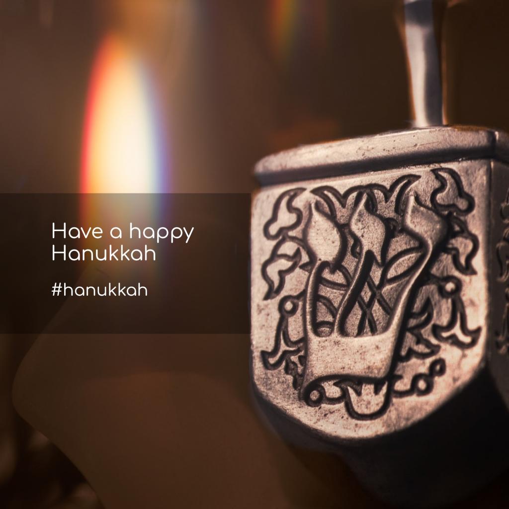 Have a happy Hanukkah #hanukkah Instagram Post Template