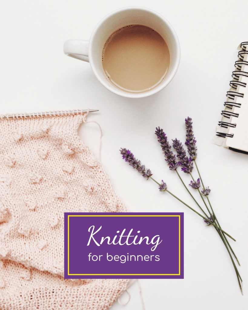Knitting for beginners Instagram Post Template