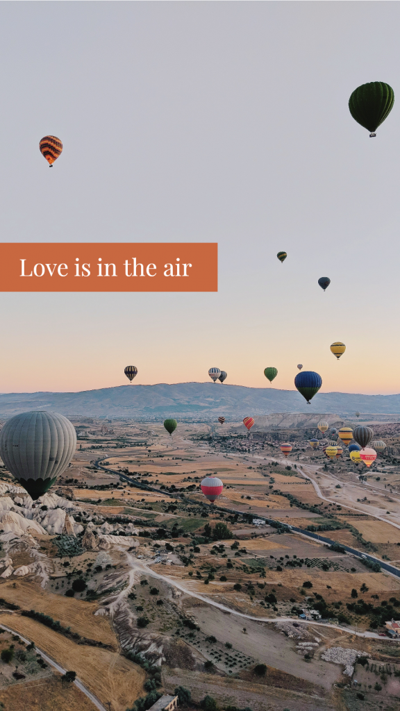 Love is in the air Instagram Story Template