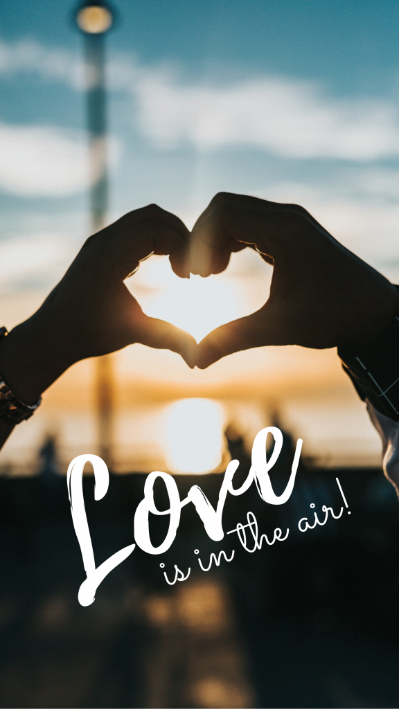 Love is in the air! Instagram Story Template
