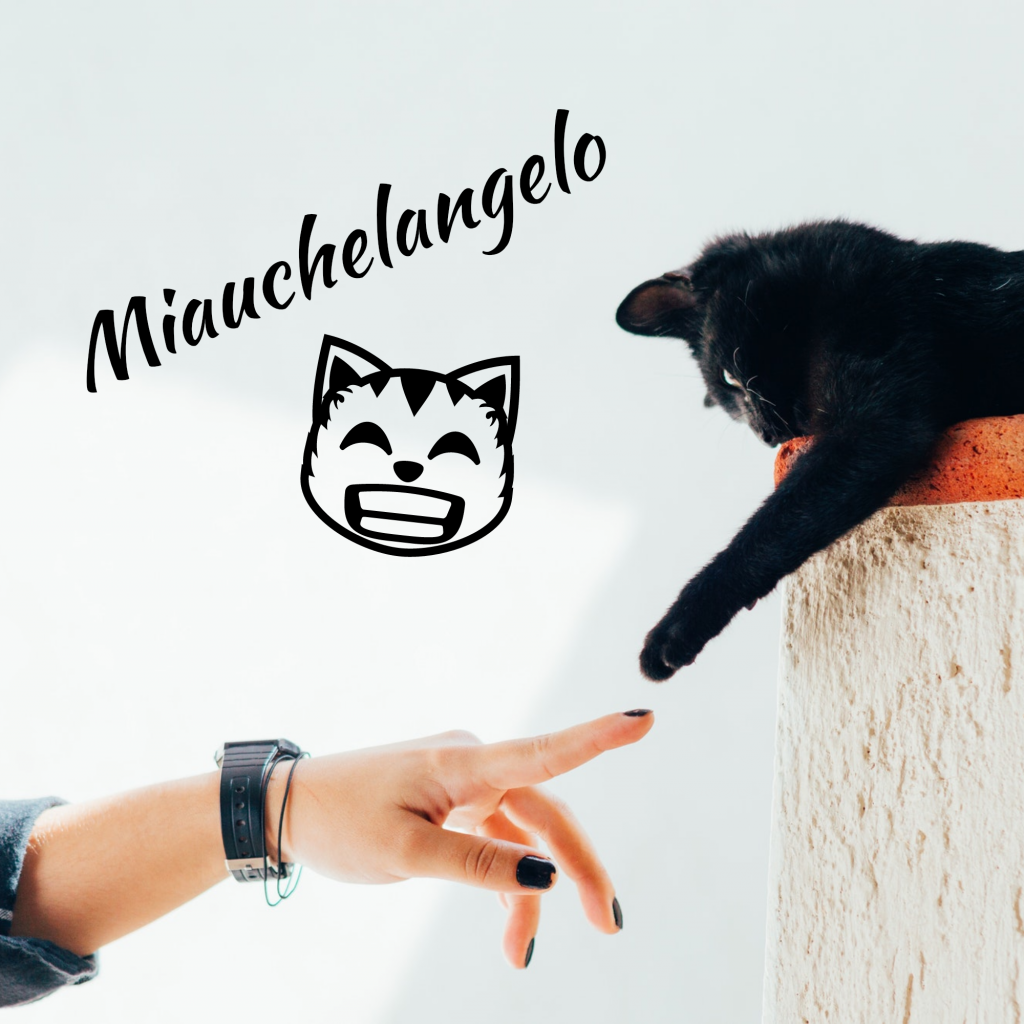 Miauchelangelo Instagram Post Template