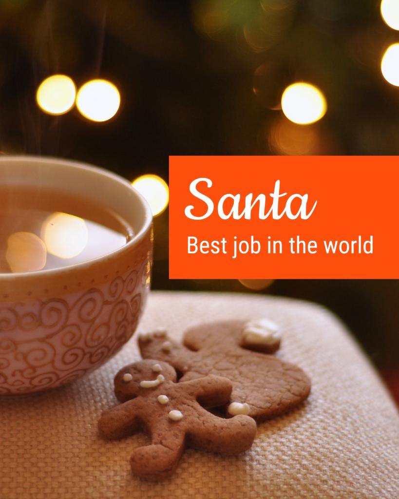Santa Best job in the world Instagram Post Template