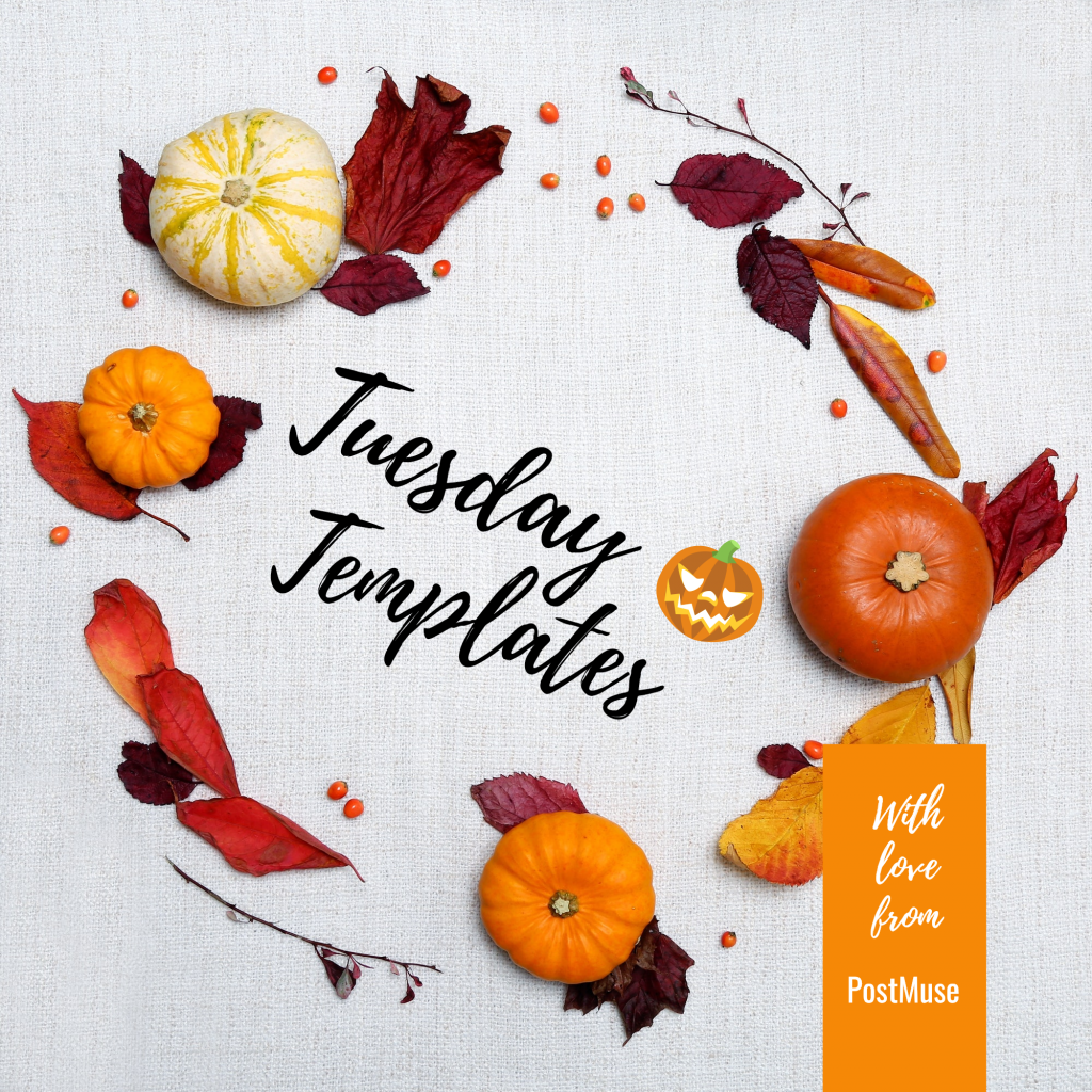 Tuesday Templates With love from PostMuse Instagram Post Template