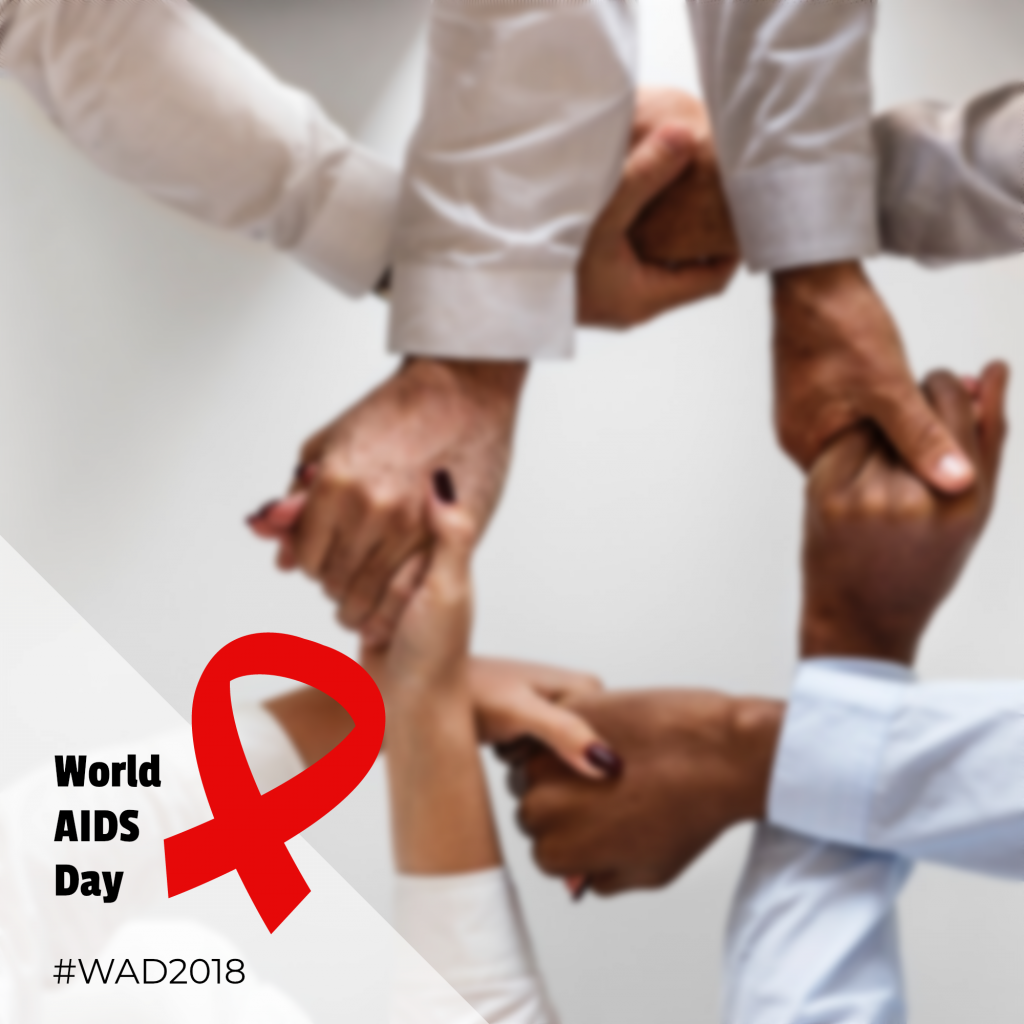 World AIDS Day #WAD2018 Instagram Post Template