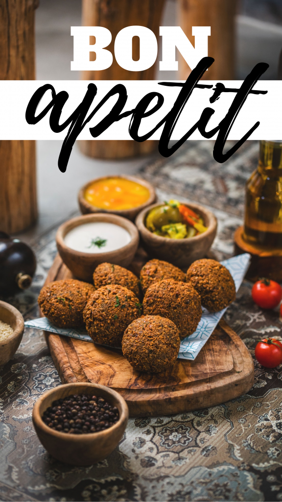 BON apetit Instagram Story Template
