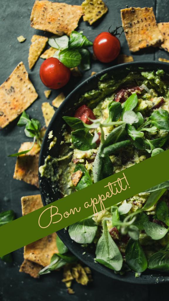 Bon appetit! Instagram Story Template