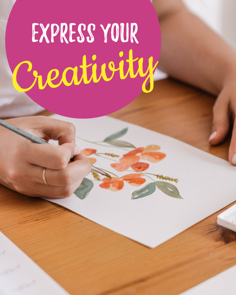 Express your Creativity Instagram Post Template
