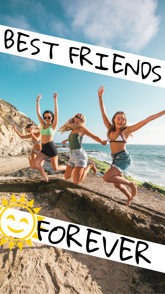 BEST FRIENDS FOREVER Instagram Story Template