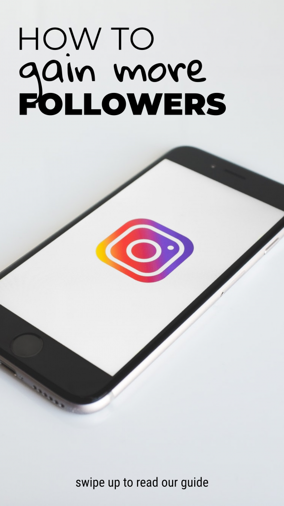 HOW TO gain more FOLLOWERS swipe up to read our guide Instagram Story Template