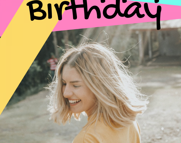 Happy Birthday Instagram Story Template