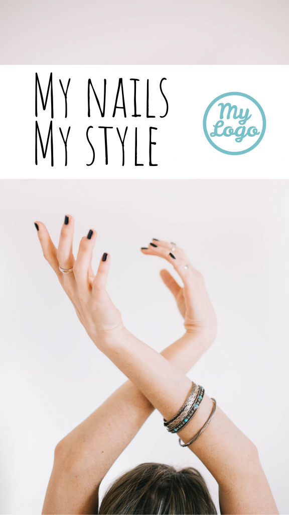My nails My style My Logo Instagram Story Template