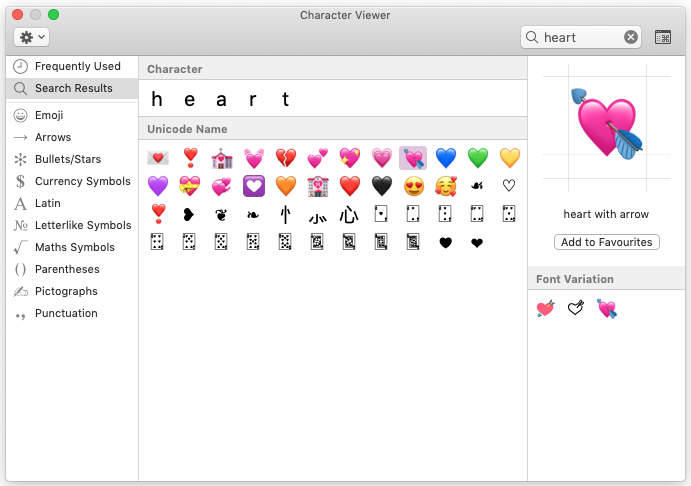 Pick a heart. Any heart! ❤️💘