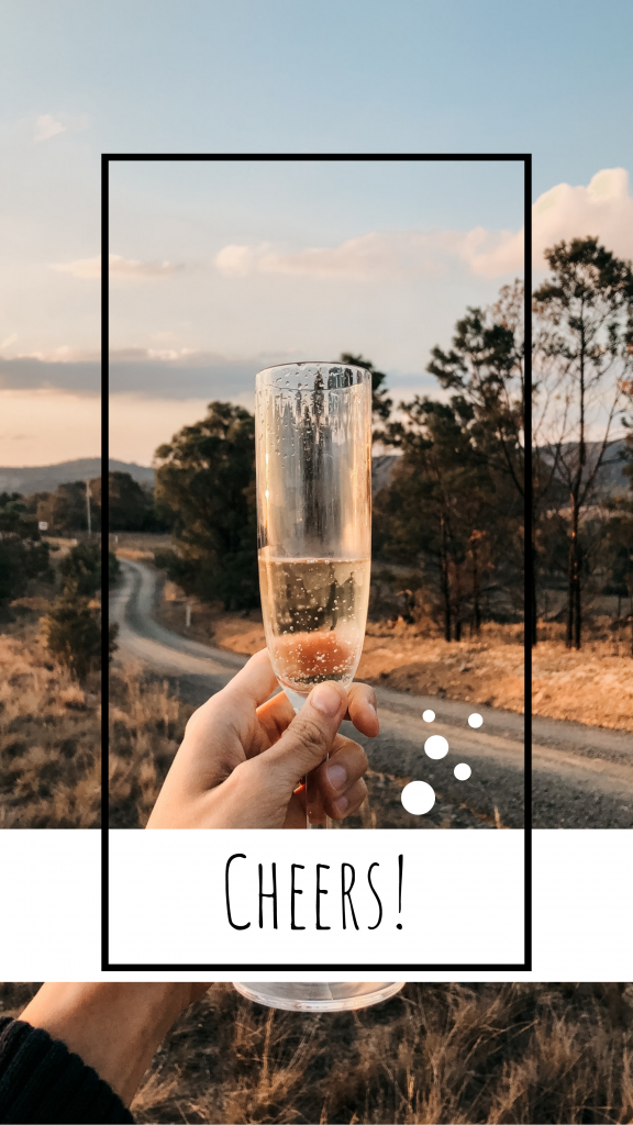 Cheers! Instagram Story Template
