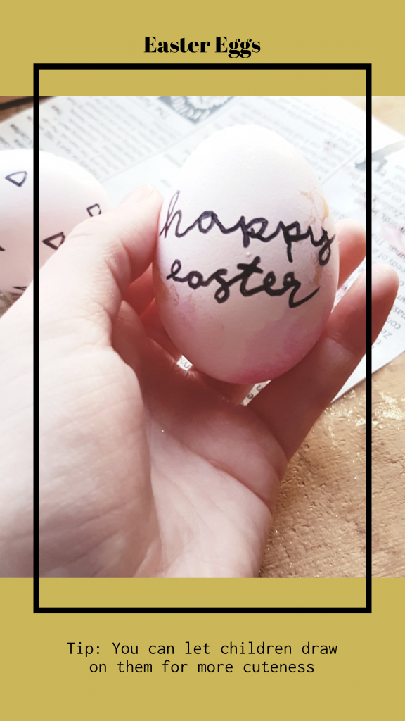 Easter Eggs Tip: You can let children draw on them for more cuteness Instagram Story Template