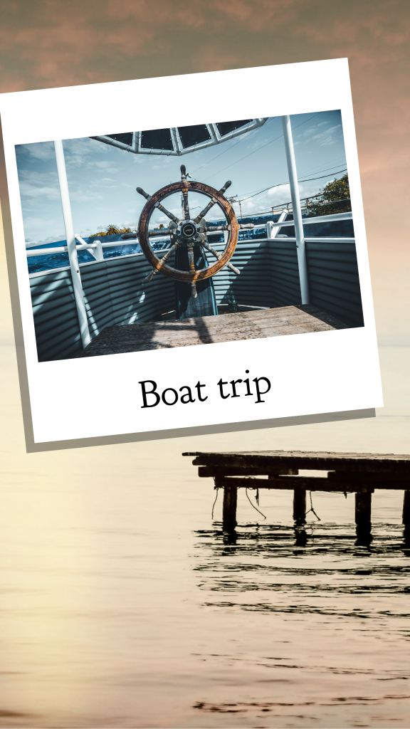 Travel Story collection - Boat trip Instagram Story Template