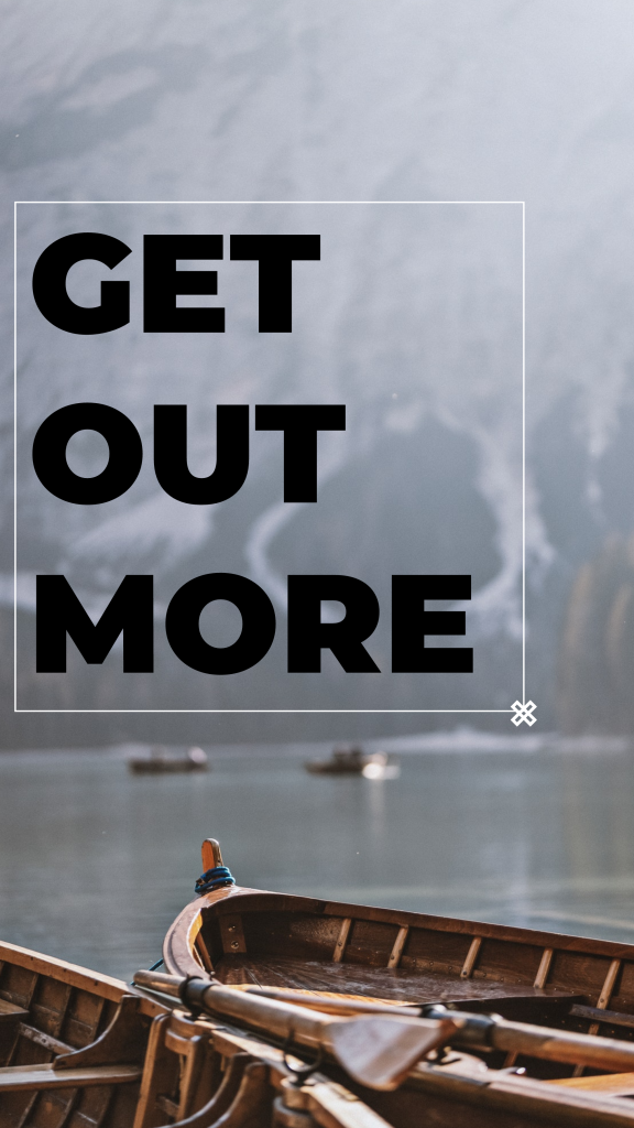 Travel Story collection - GET OUT MORE Instagram Story Template
