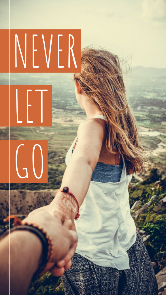 Travel Story collection - NEVER LET GO Instagram Story Template