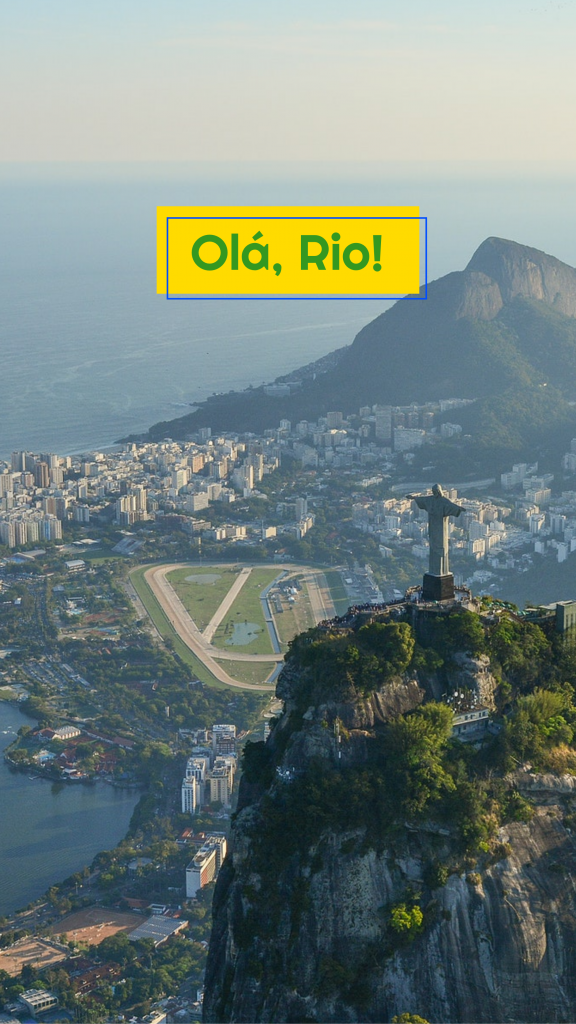 Travel Story collection - Olá, Rio! Instagram Story Template