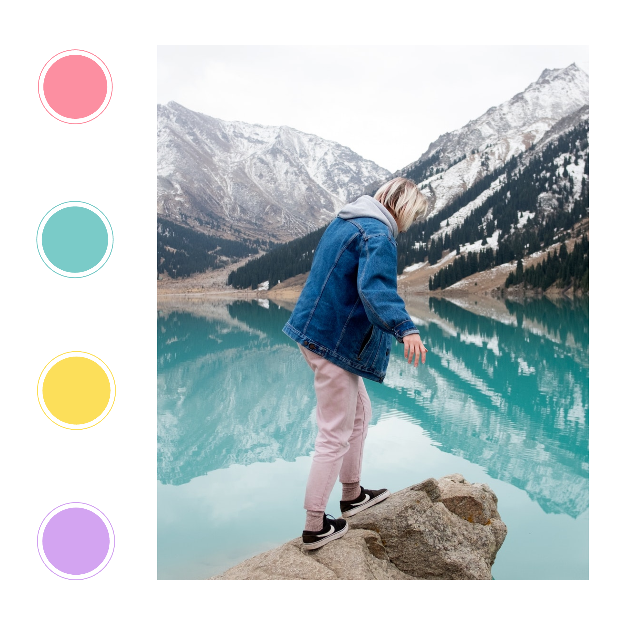 Happy Pastel collection - PostMuse Instagram Post Template