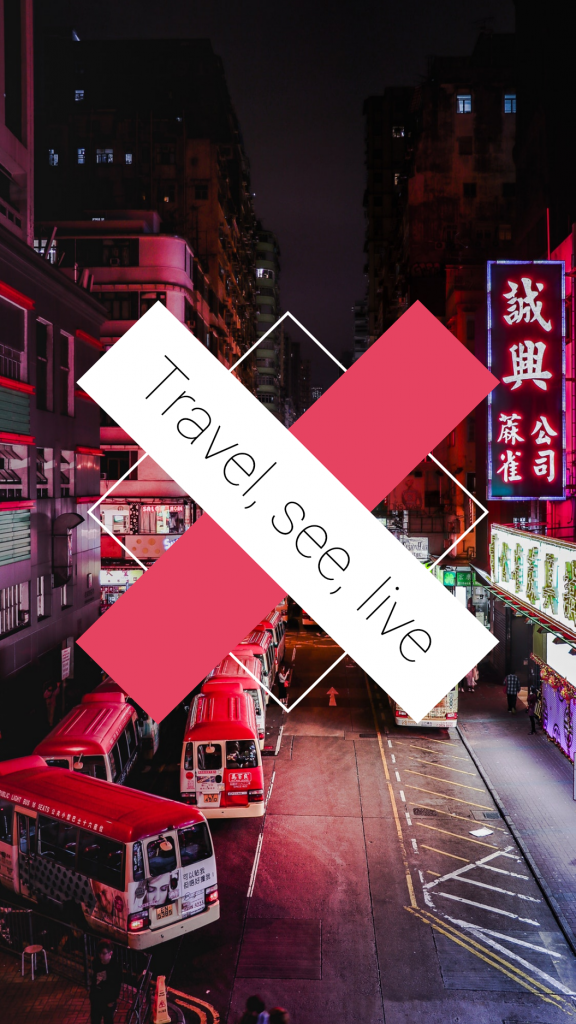 Travel Story collection - Travel, see, live Instagram Story Template