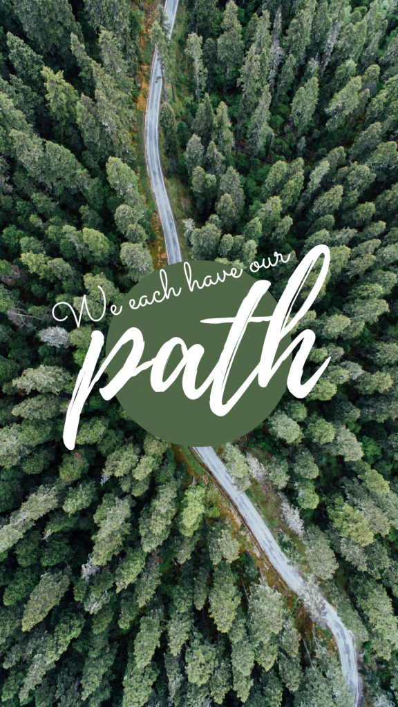 Travel Story collection - We each have our path Instagram Story Template