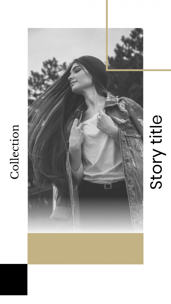 Collection Story title Instagram Story Template