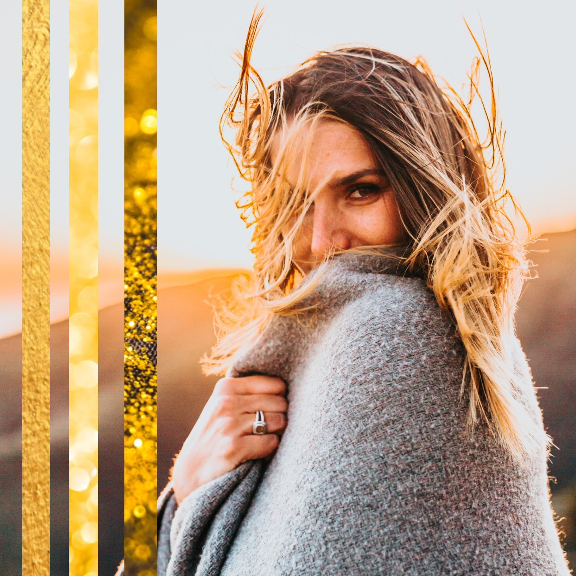 #goldisthenewblack (FREE today) collection - PostMuse Instagram Post Template