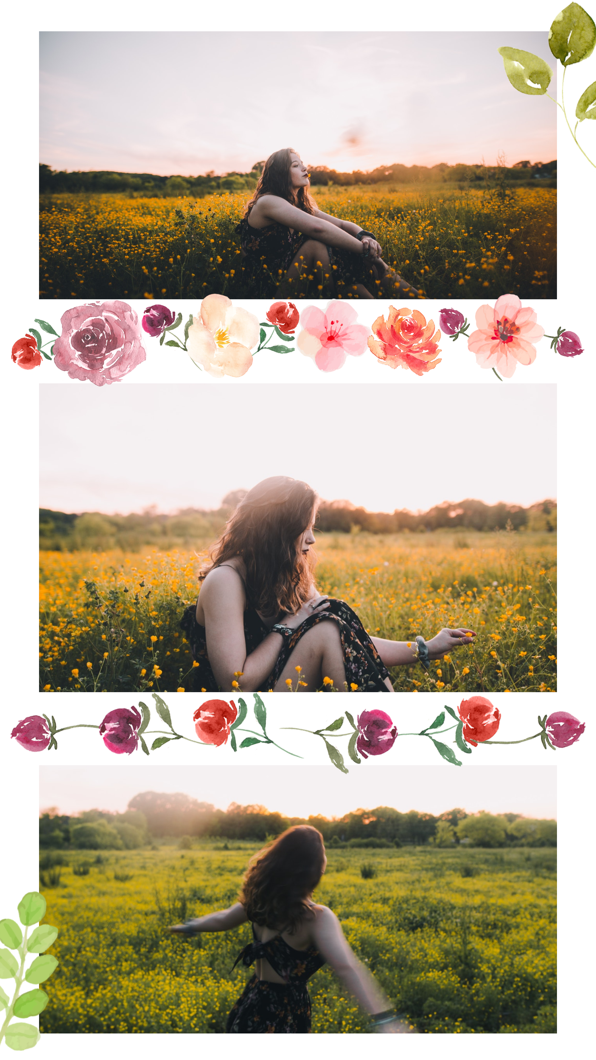 #pastelflowers collection - PostMuse Instagram Story Template