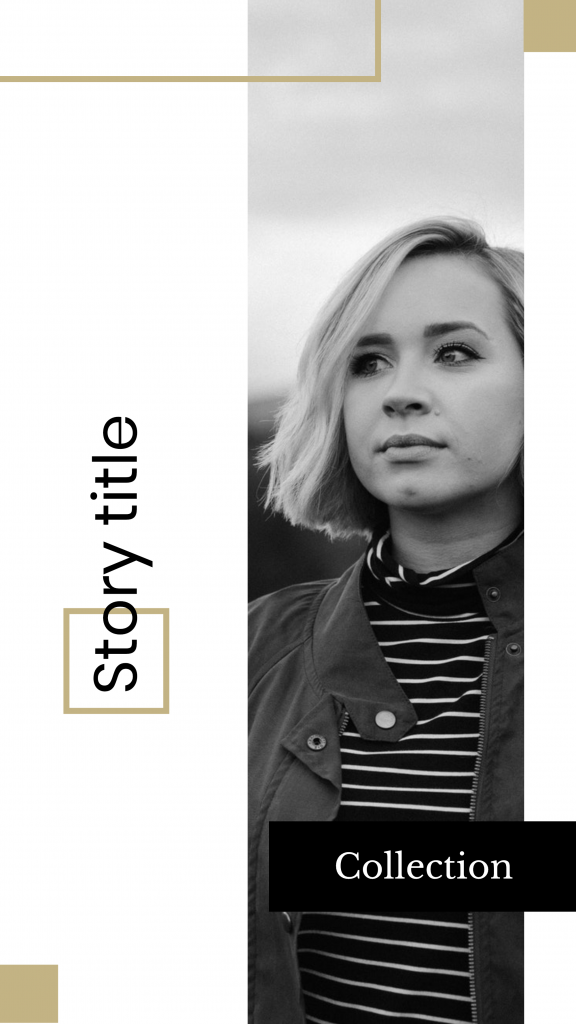 Story title Collection Instagram Story Template