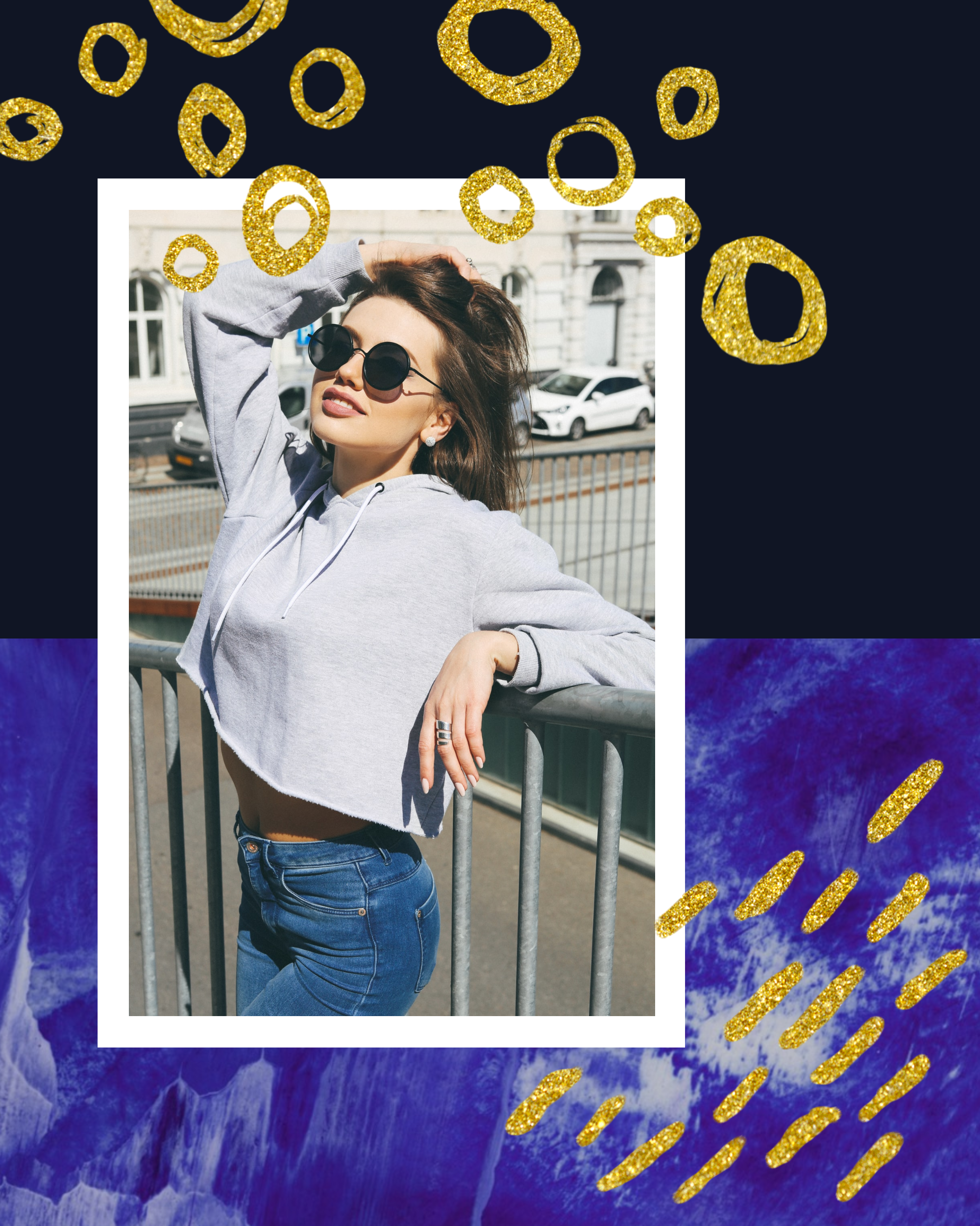 #bluegold Post collection - PostMuse Instagram Post Template