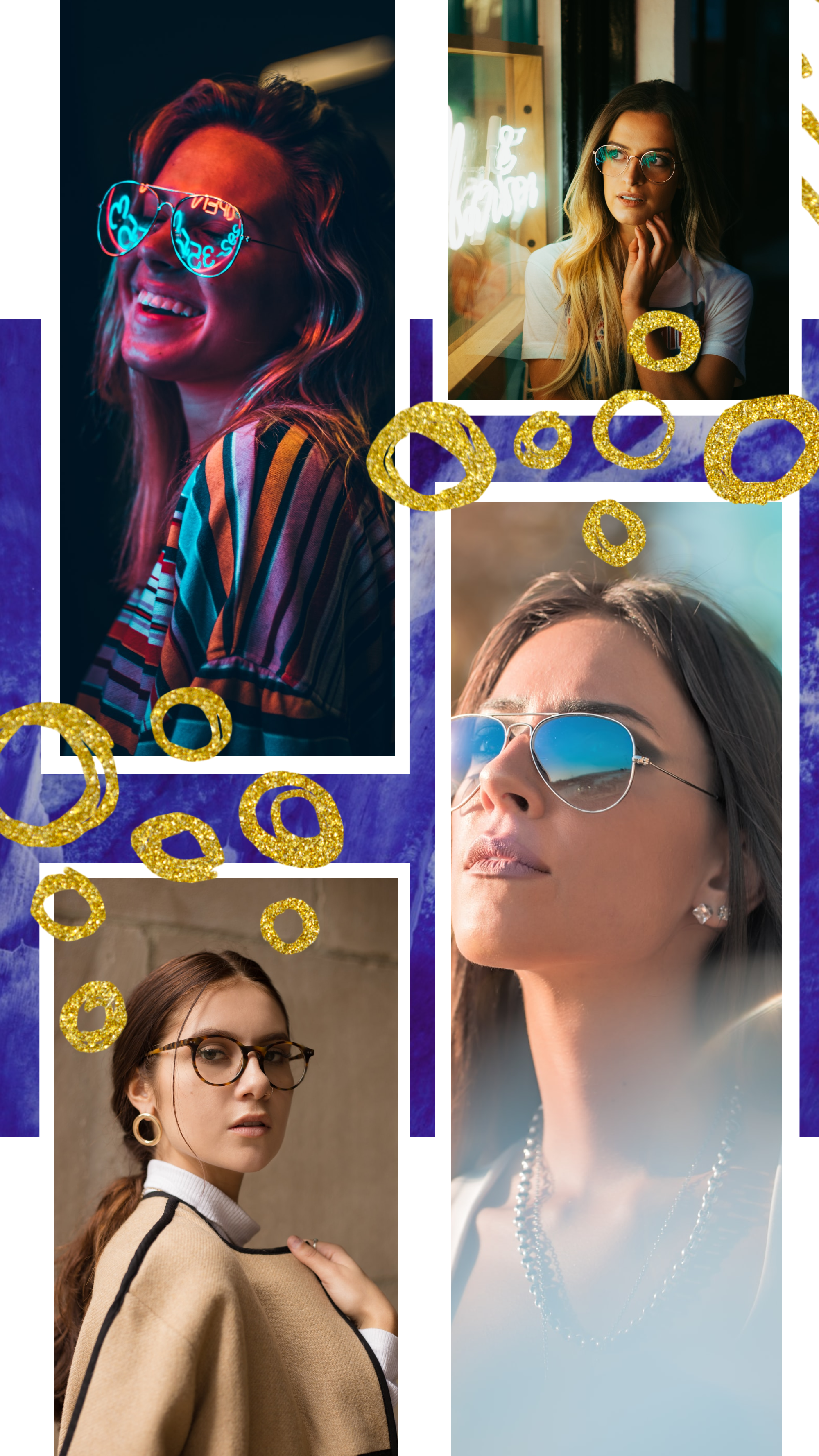 #bluegold collection - PostMuse Instagram Story Template